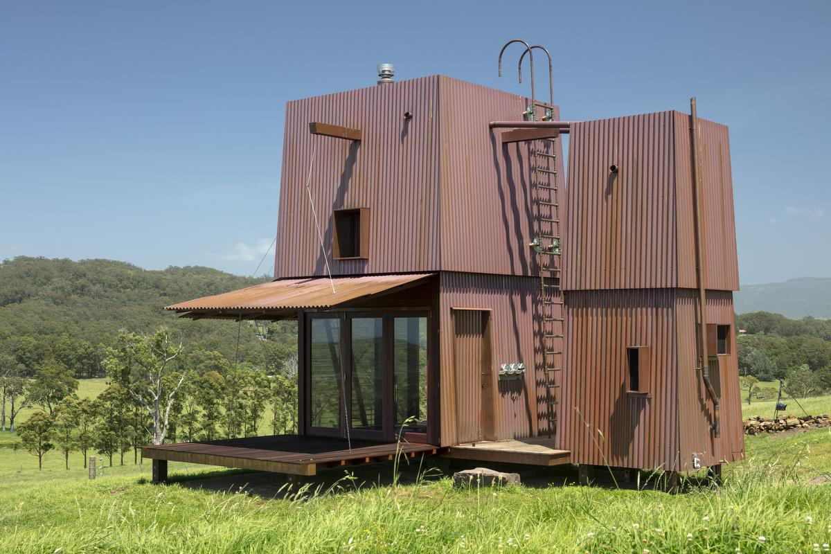 permanent camping cabin project in New Zealand