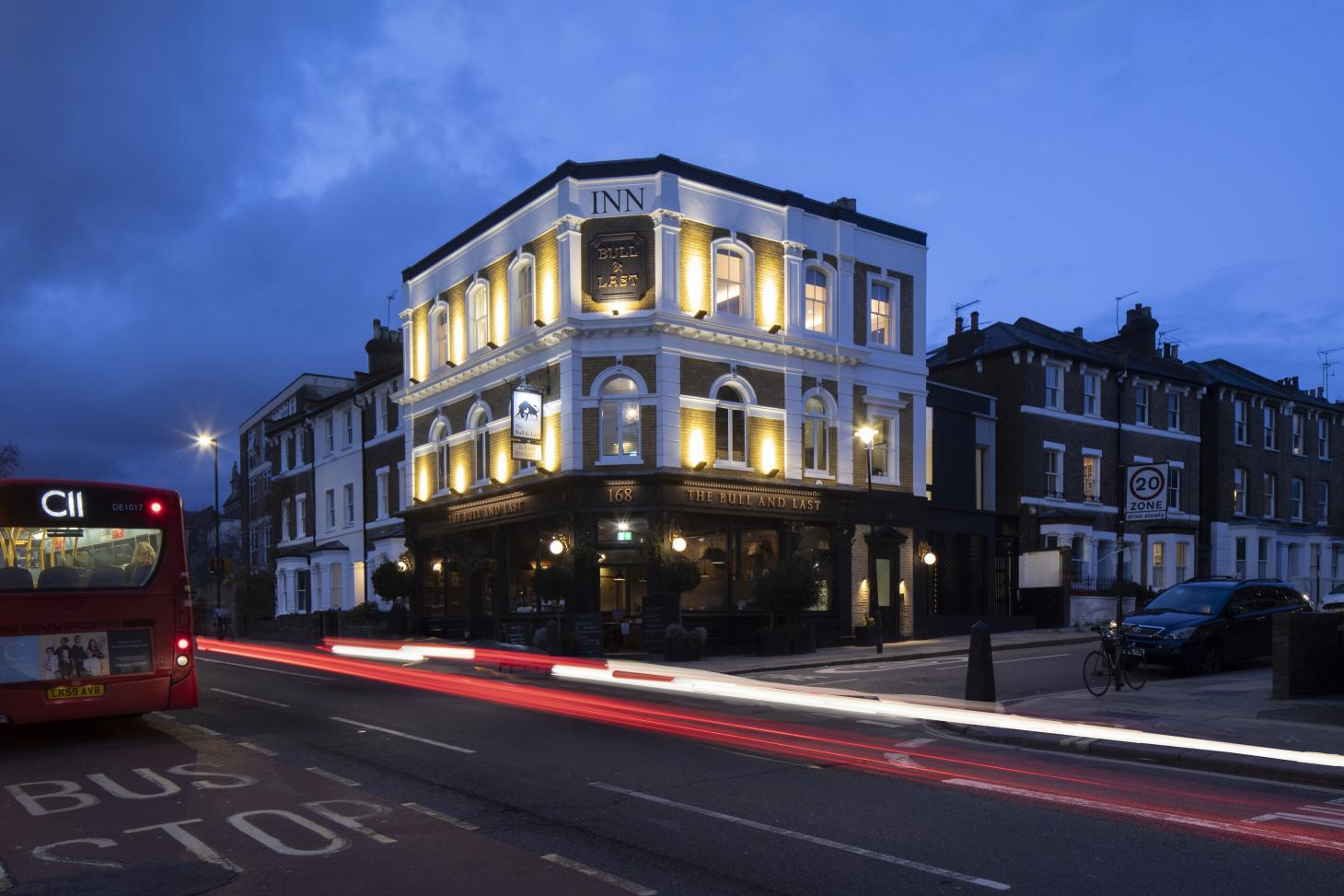pub with apartments scheme in London