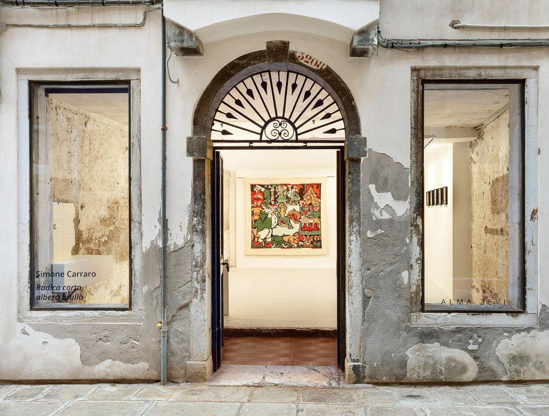 Walking tour of Venice Alma Zevi Gallery