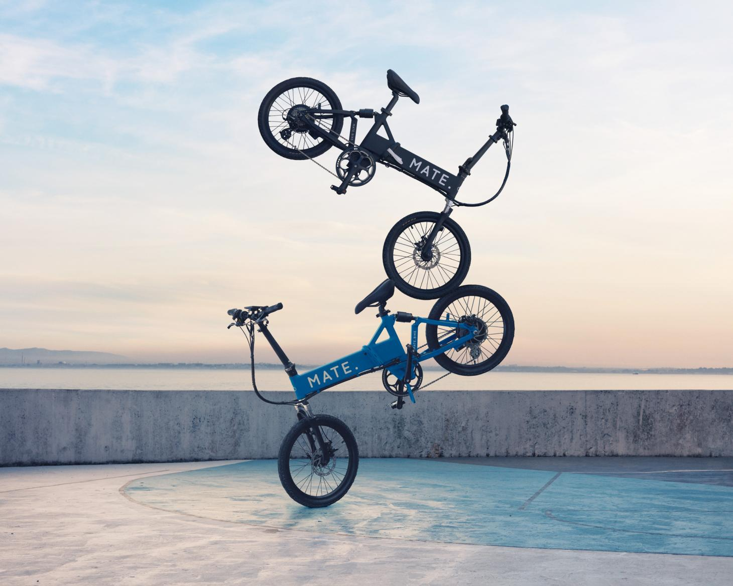 MATE's range of E-Bikes are colourful, contemporary and powerful