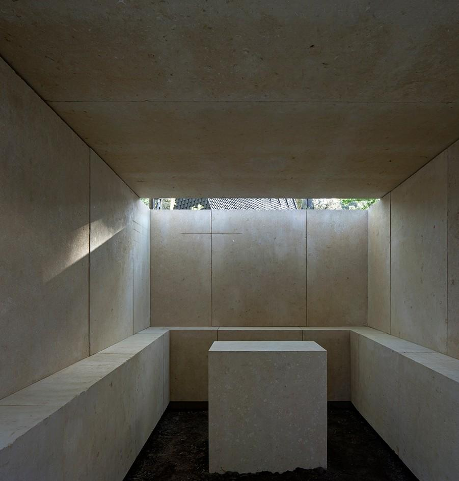 Eduardo Souto de Moura's 'No, it is not...' chapel for the Vatican Chapels at Venice Architecture Biennale