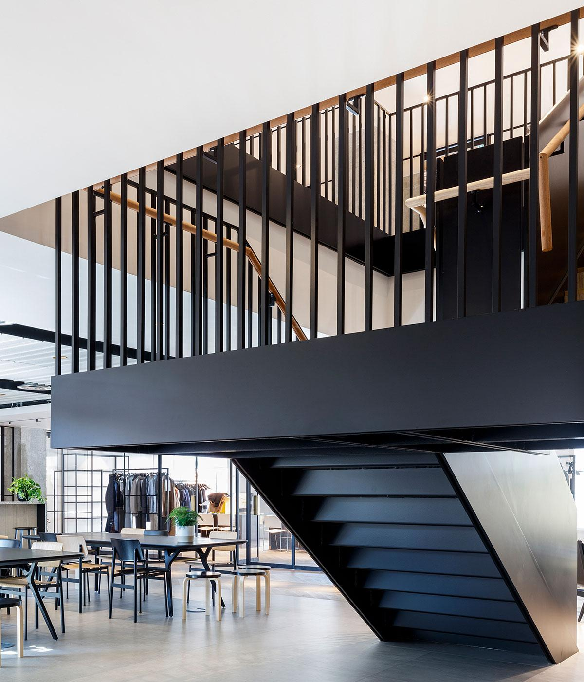 Dunhill office london staircase