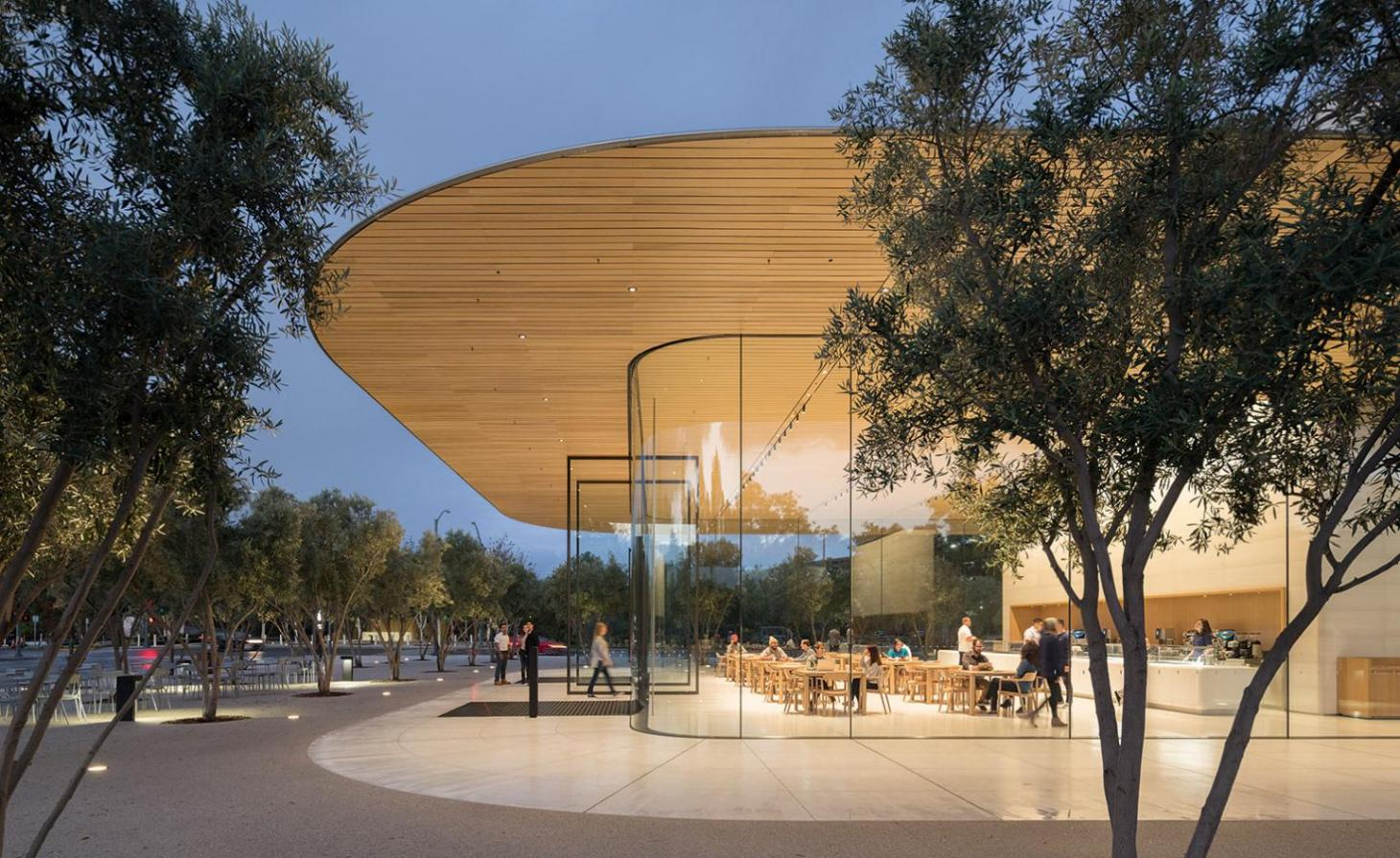 Apple Park Visitor Center, US, by Foster + Partners