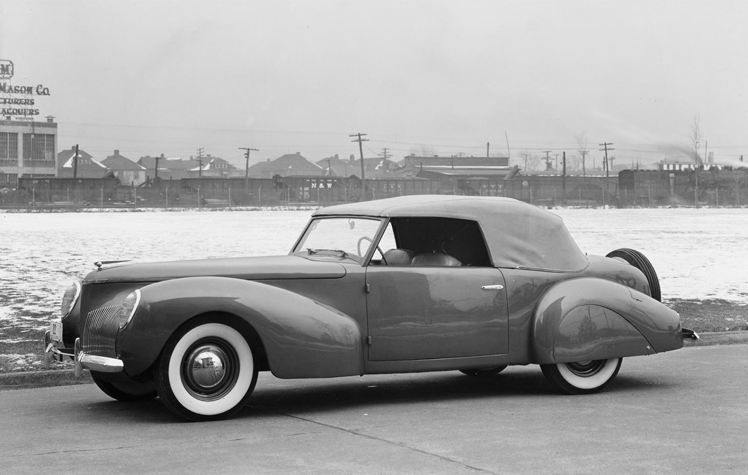 1939 Lincoln Zephyr special for Edsel Ford