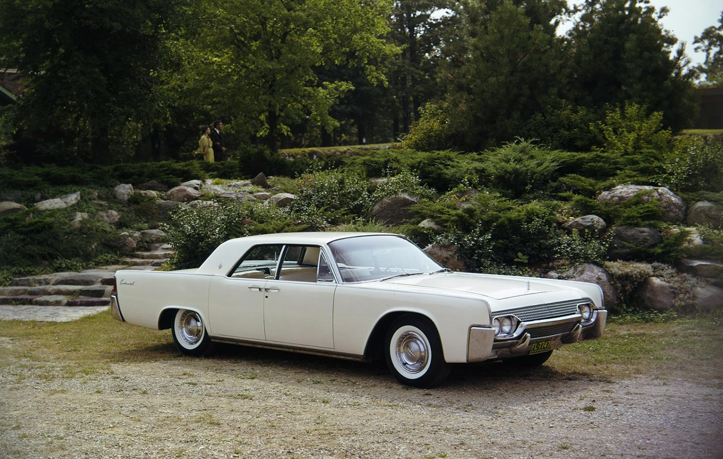 1961 Lincoln Continental four door car