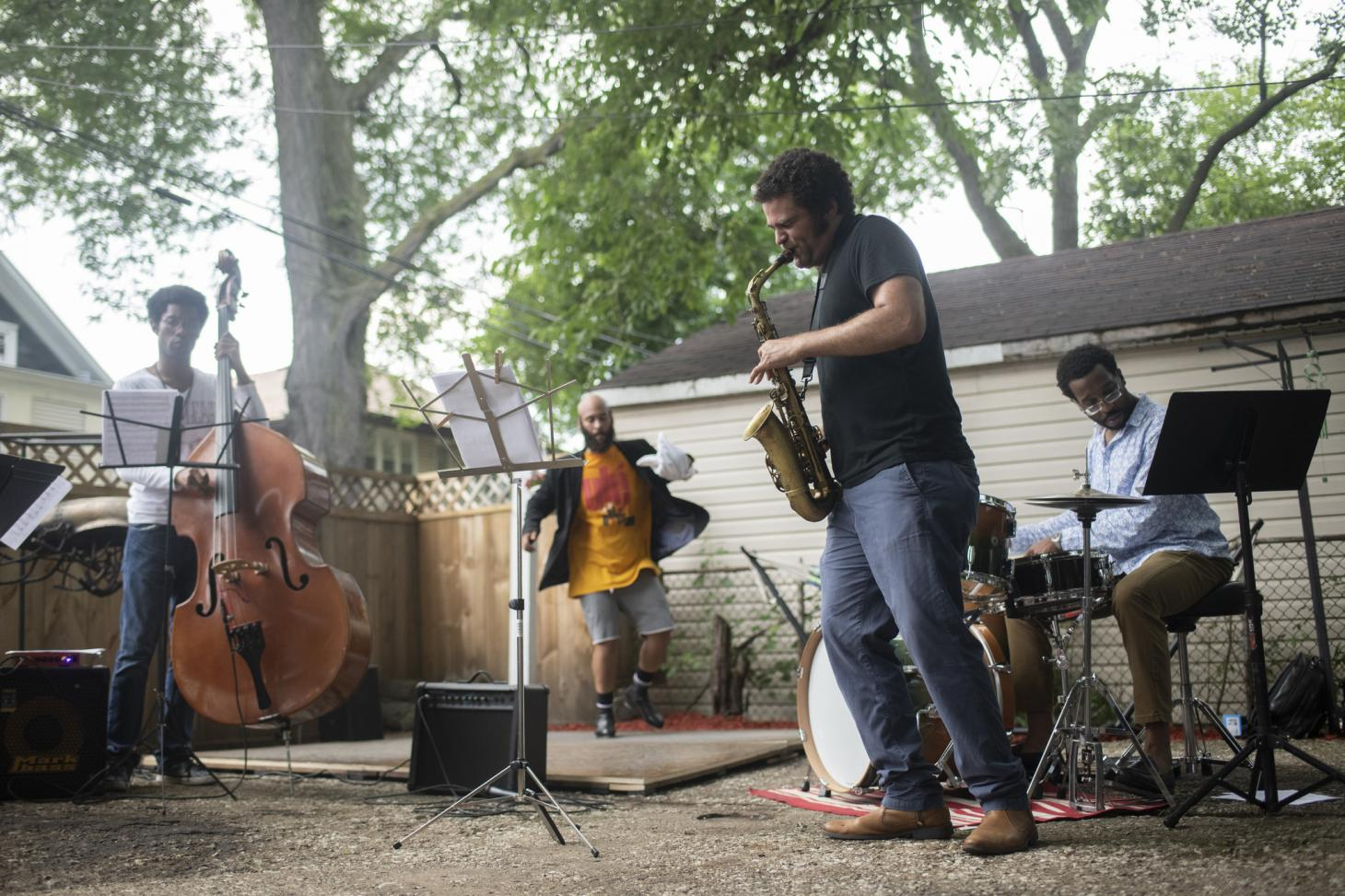 Back Alley Jazz 2018 in Chicago's South Shore