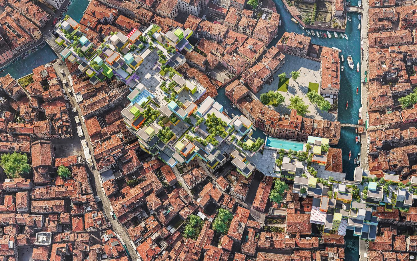 heniquez architects are part of the time space existence exhibition in Venice i