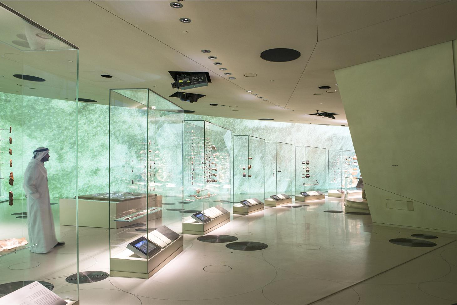 National Museum of Qatar interior