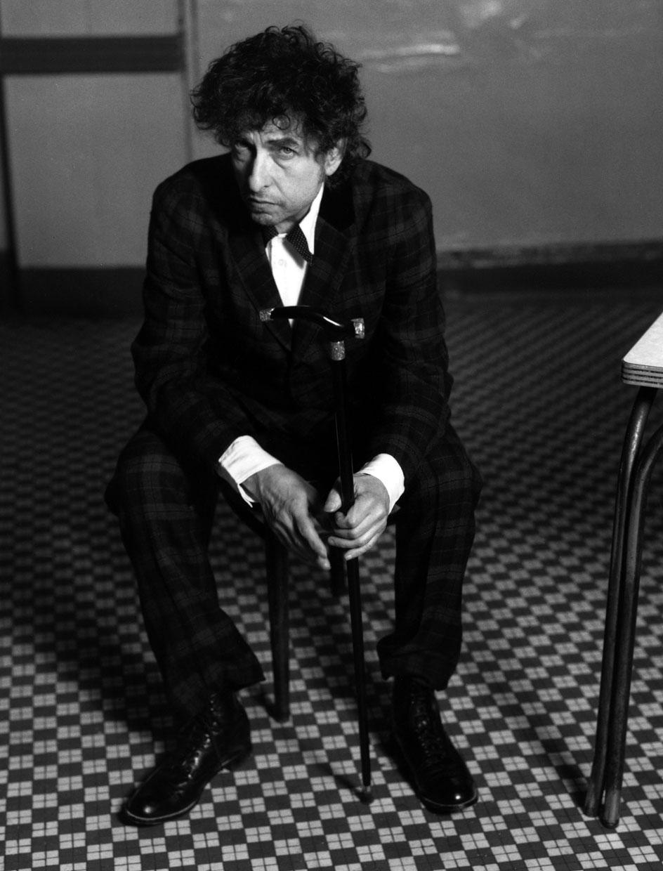 Portrait of Bob Dylan in the 2000s.© Mark Seliger