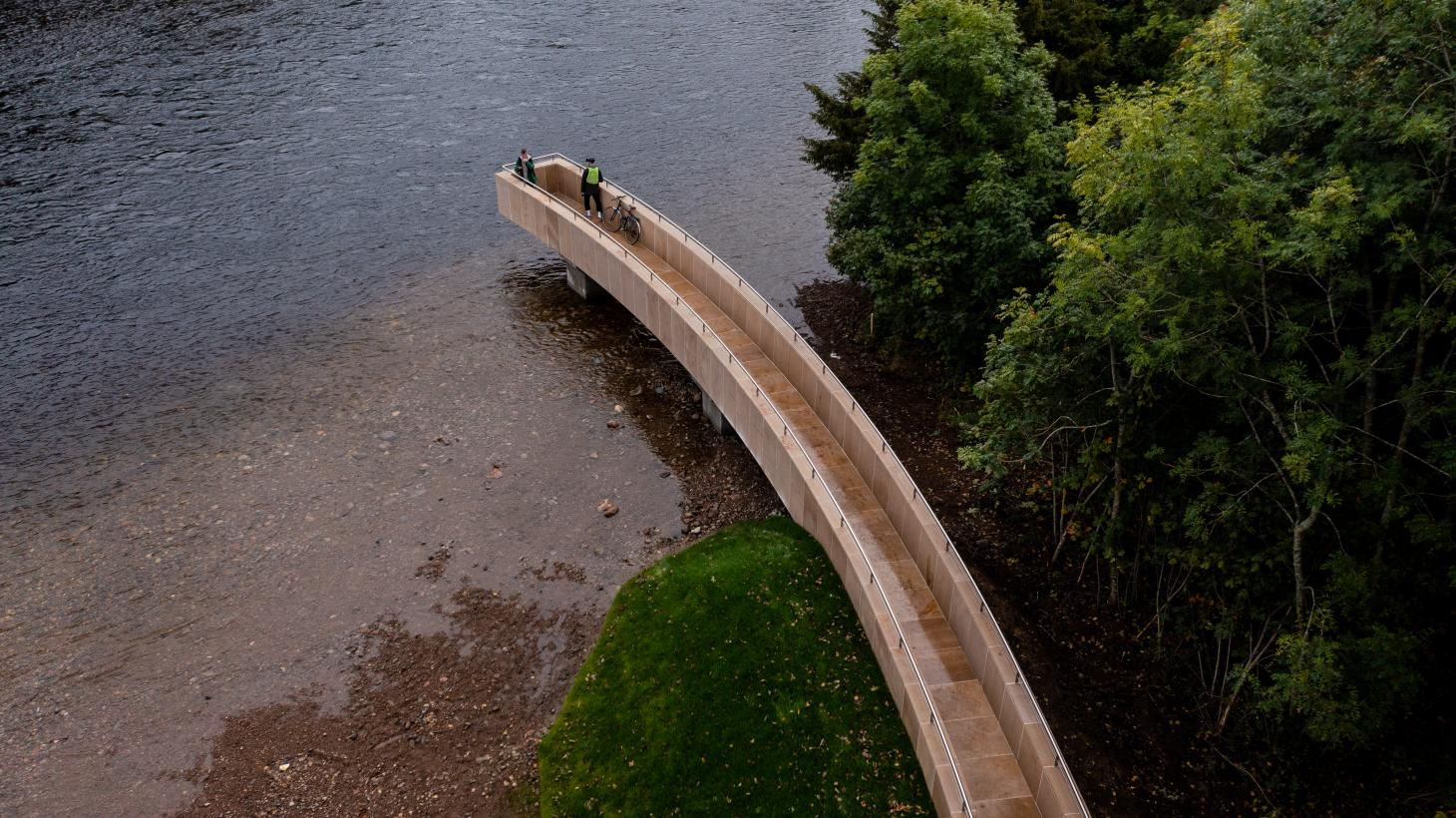 spatial installation in Scotland that mixes art and architecture