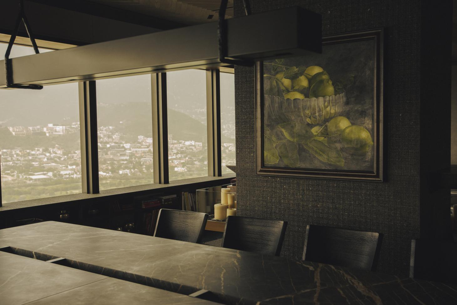 Mexico City penthouse with bespoke interiors by Simon Hamui