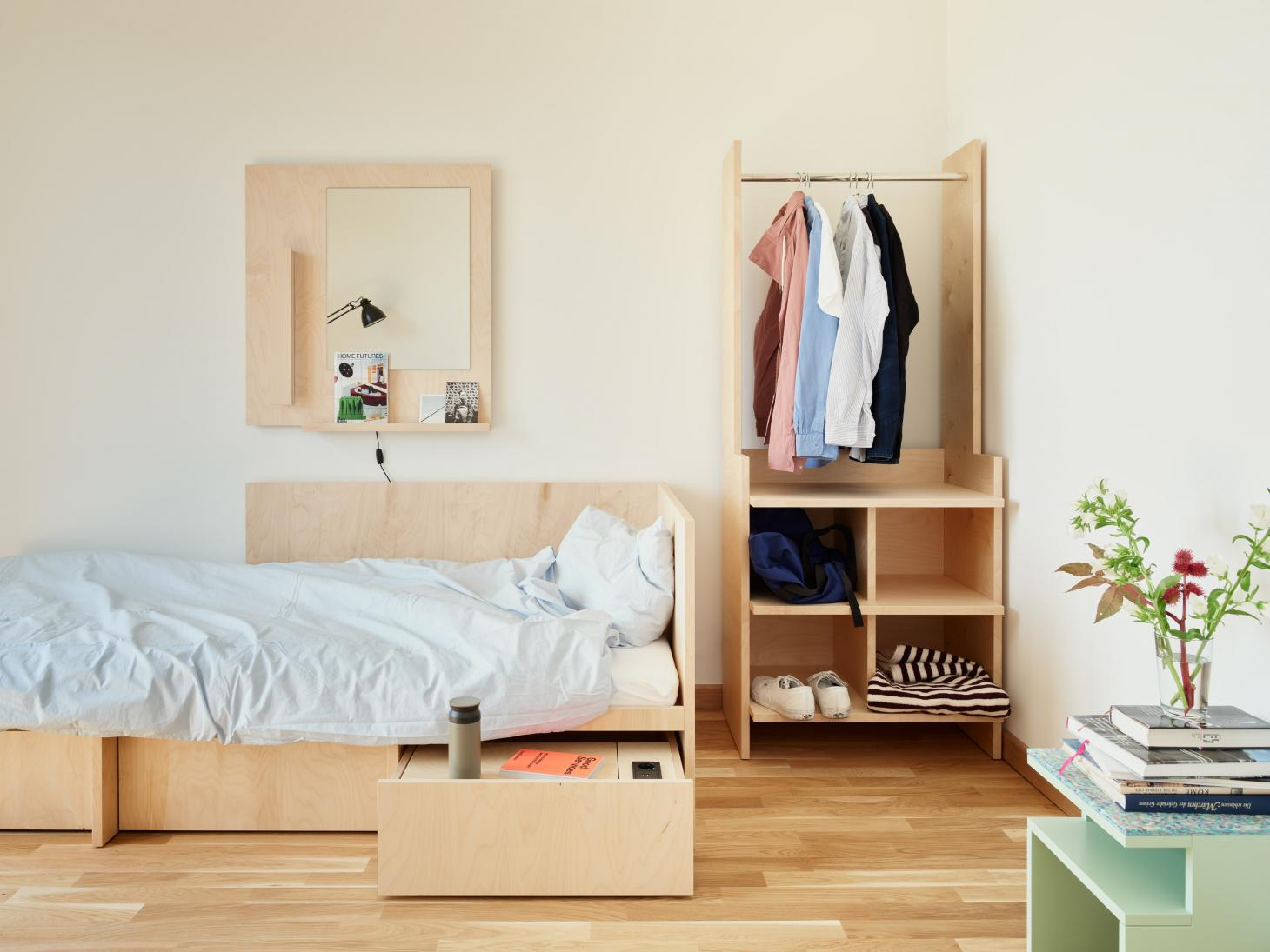 timber joinery at bard college student residences by civilian