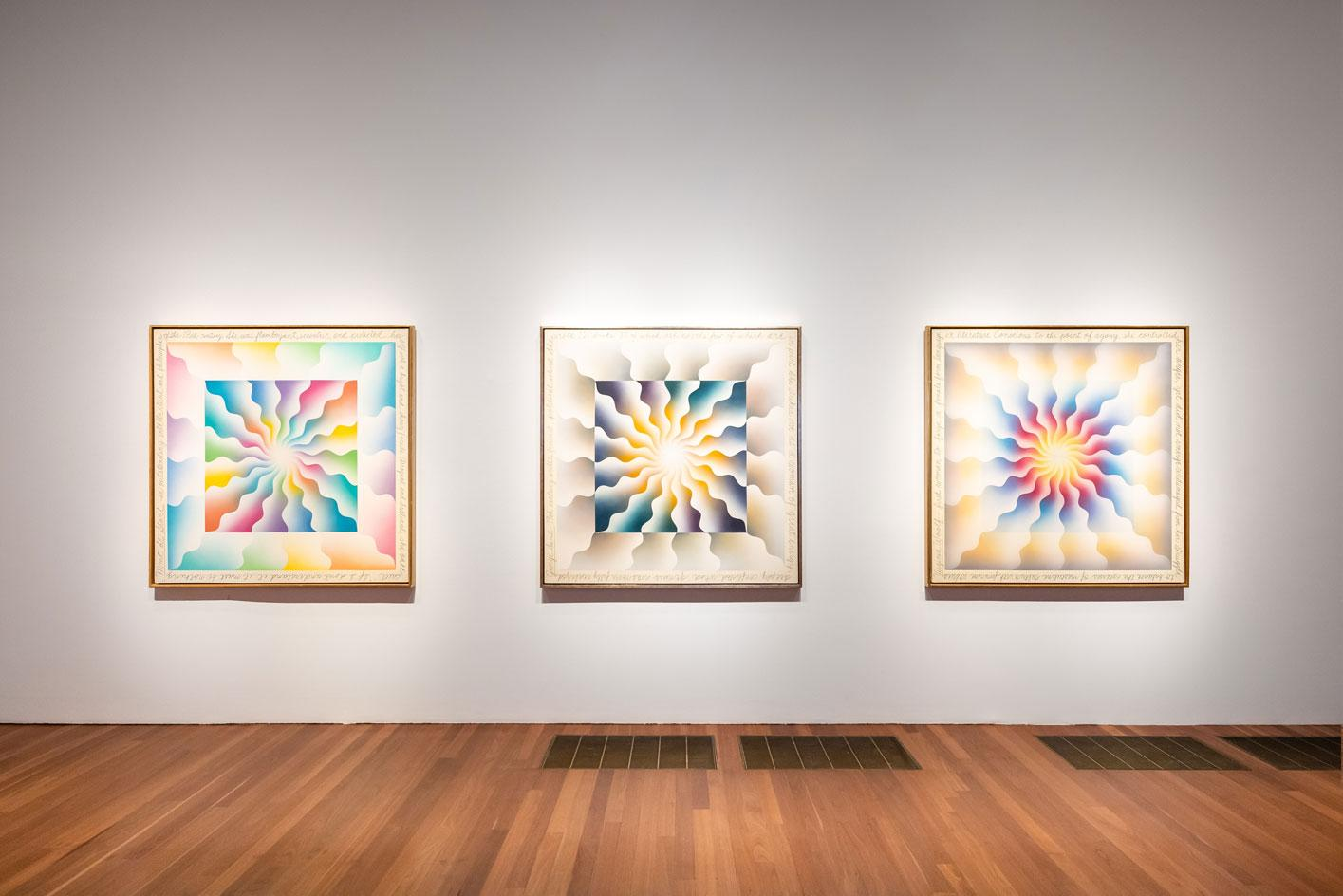 A Retrospective' at the de Young Museum.Photography by Gary Sexton.Image provided courtesy of the Fine Arts Museums of San Francisco