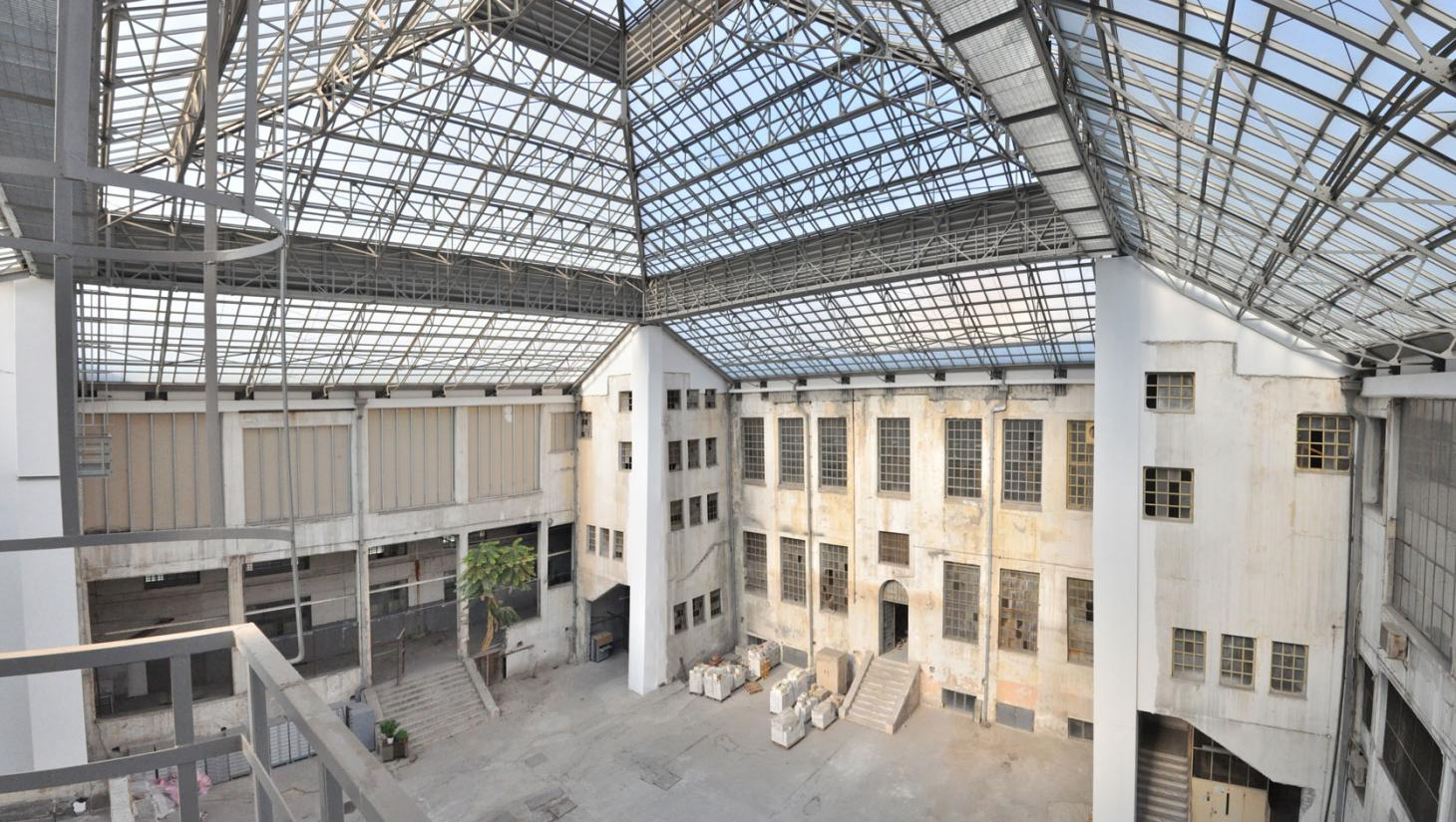 Former Public Tobacco Factory in Athens, part of the history of European art galleries