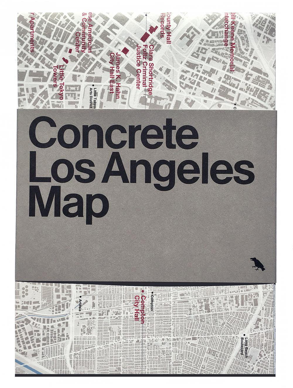 Concrete map los angeles