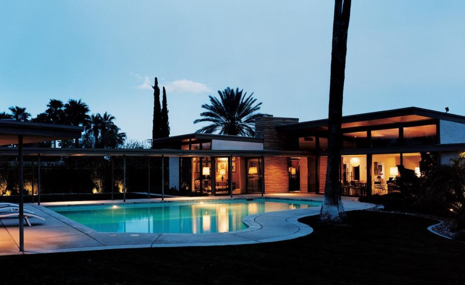 frank Sinatra's house in Palm Springs