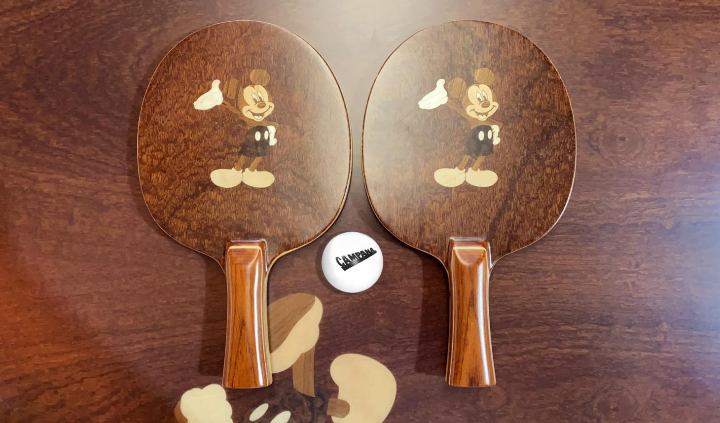Disney Mickey Mouse ping pong