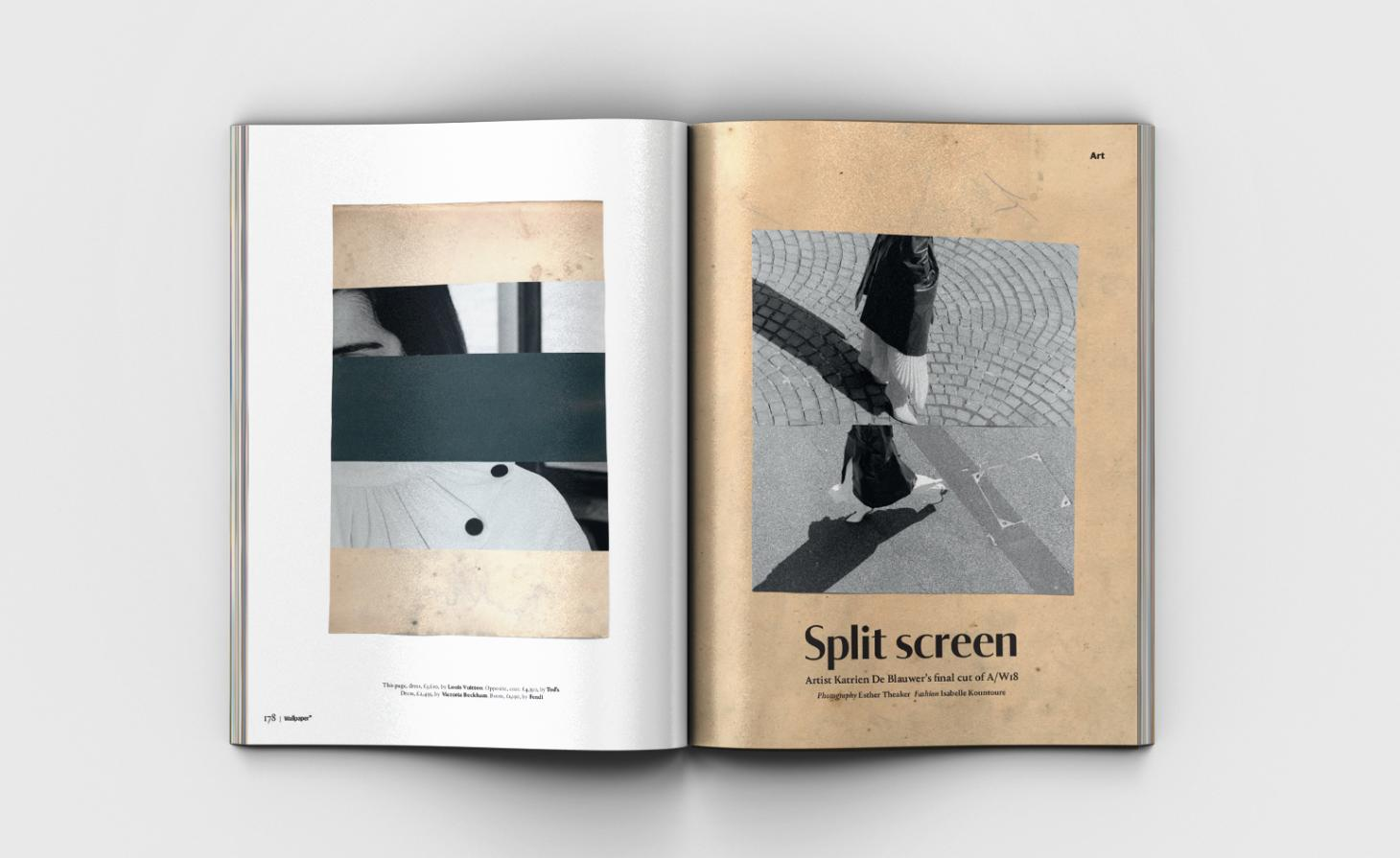Spread from Wallpaper* Style Special September 2018 issue