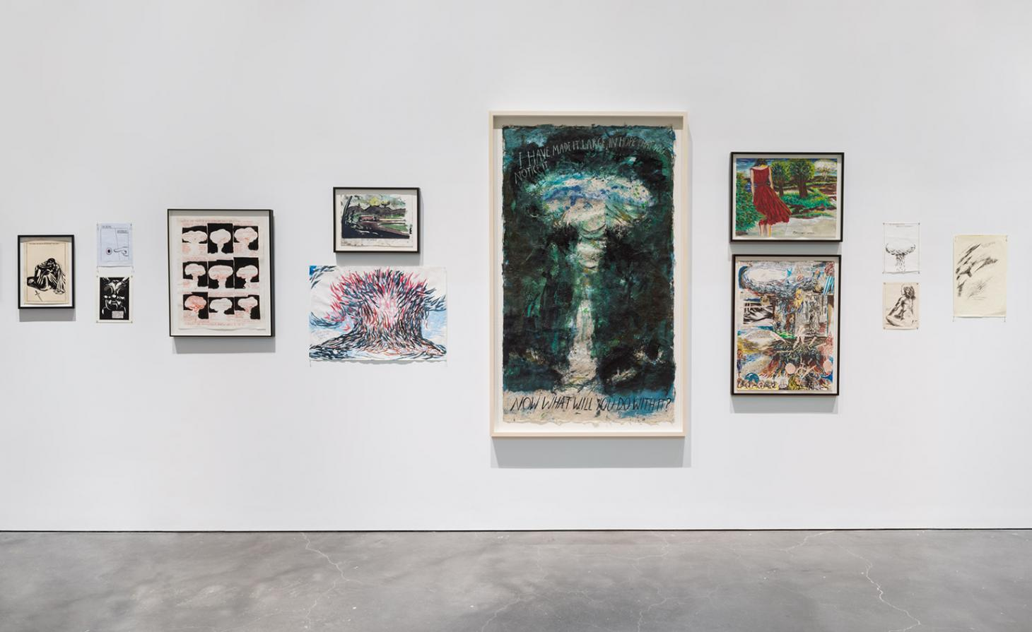 "raymond pettibon s influence on newer artists Occupying the three main floors of the new museum, ""raymond: pettibon: a pen of all work"" is the largest presentation of pettibon's work to date and features more than eight hundred drawings from the 1960s to the present."
