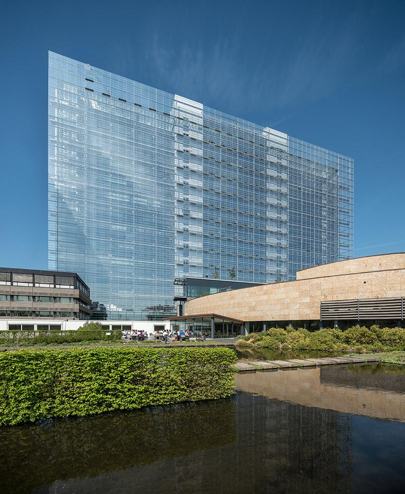 The European Patent Office building architecture
