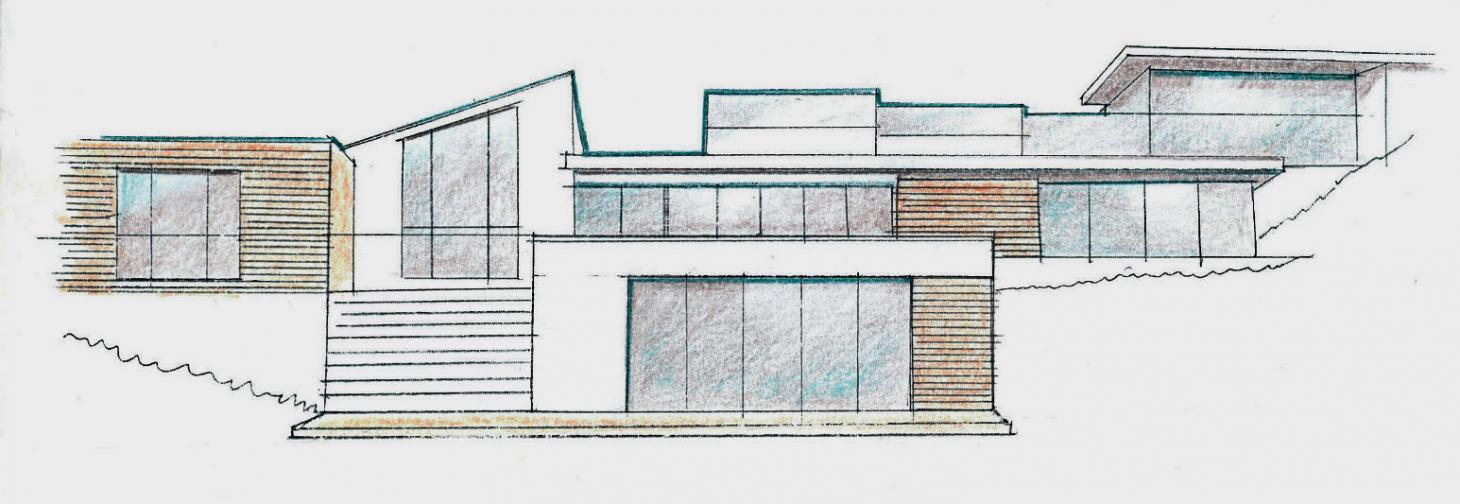 Sketch of McGovern House by Baynes&Co