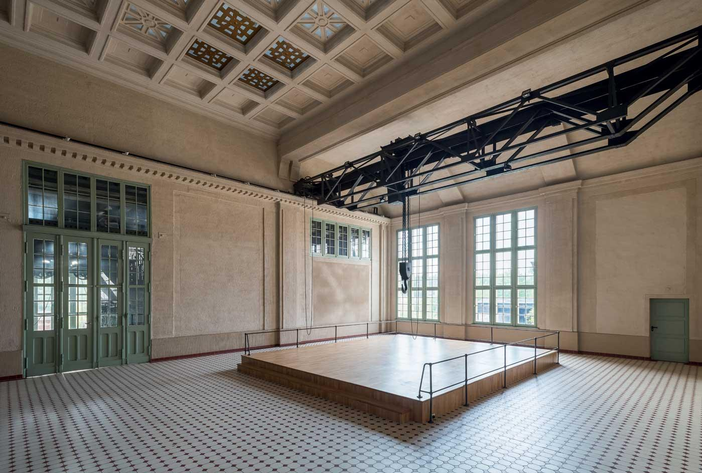 E-Werk's Turbine Hall today, which plays host to a roster of performance artists. Photography:Stefan Korte, shot for Wallpaper'sOctober 2019 issue