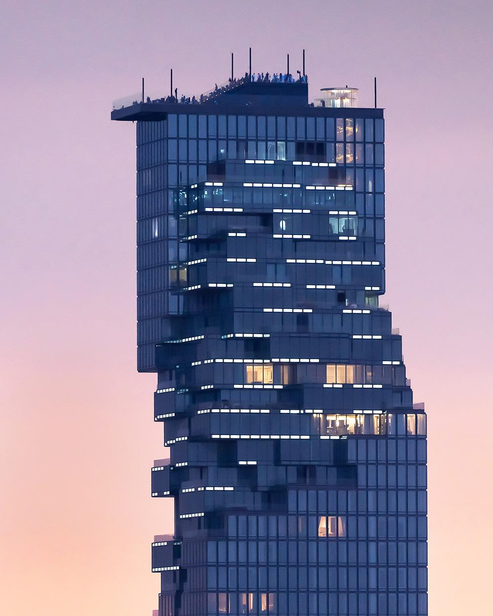 The MahaNakhon tower by Buro Ole Scheeren