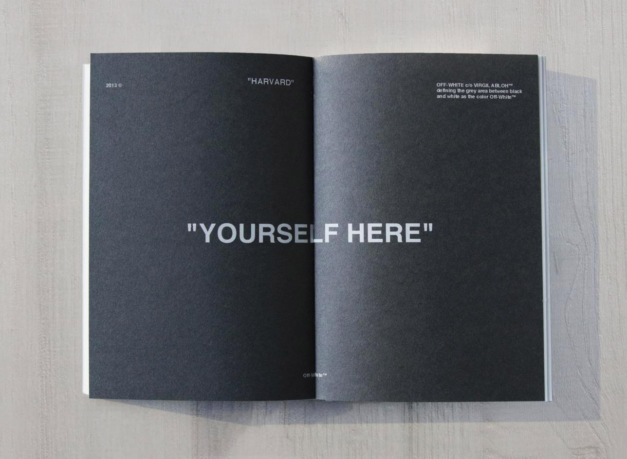 Virgil Abloh Harvard GSD book
