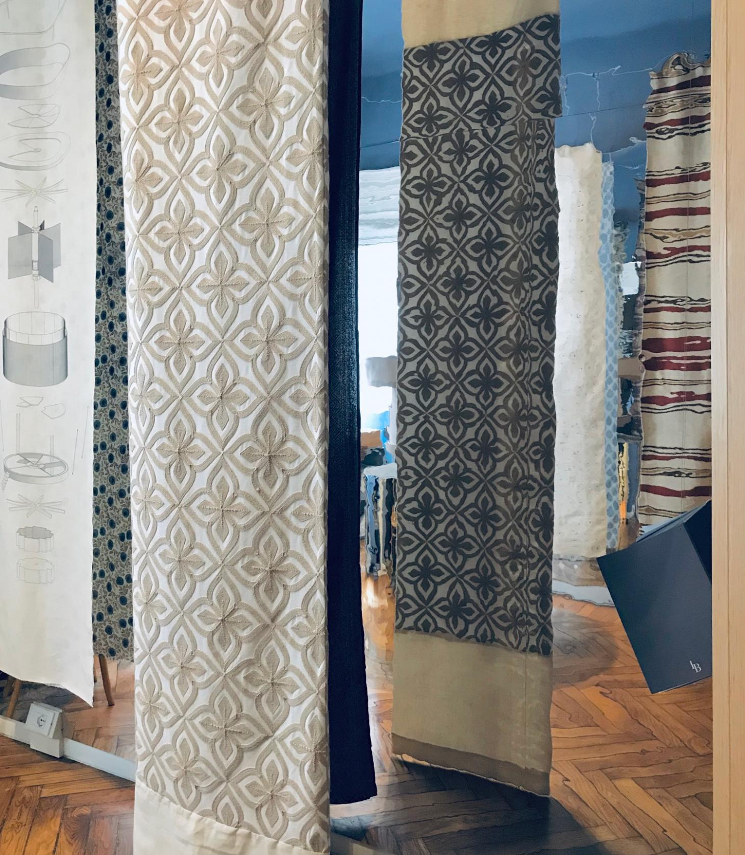 Textiles in the exhibition