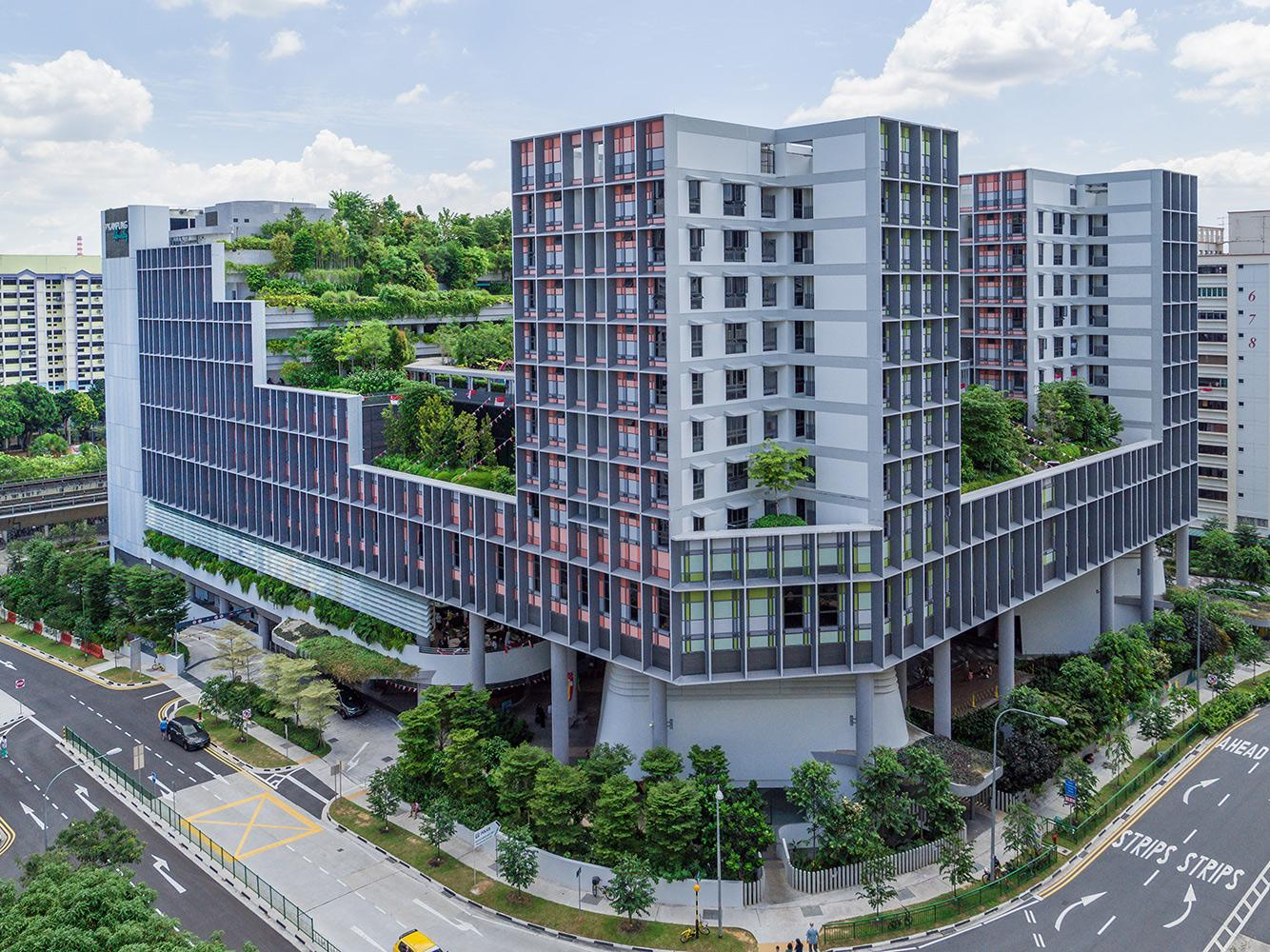 Singapore's Kampung Admiralty by WOHA