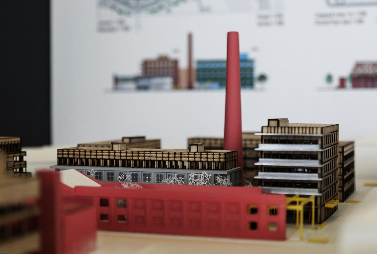 Model of reuse of an industrial site