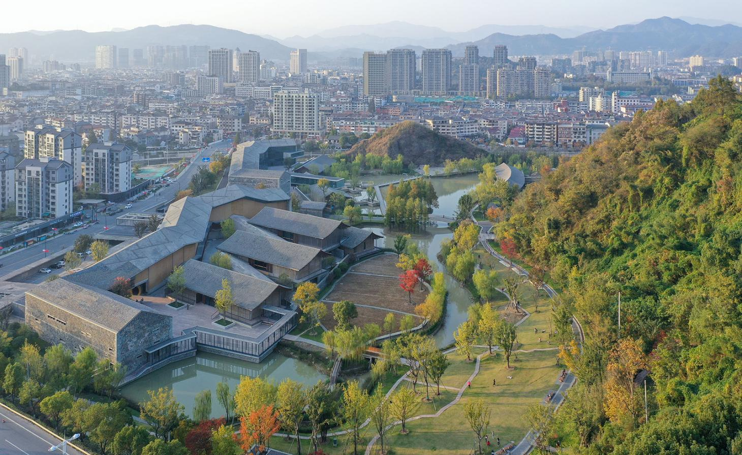 Lin'an Museum aerial view