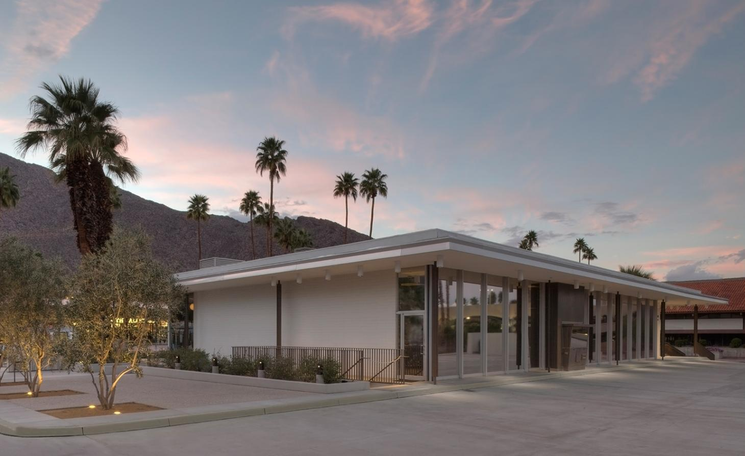 Edward Harris Pavilion Palm Springs Architecture and Design Center