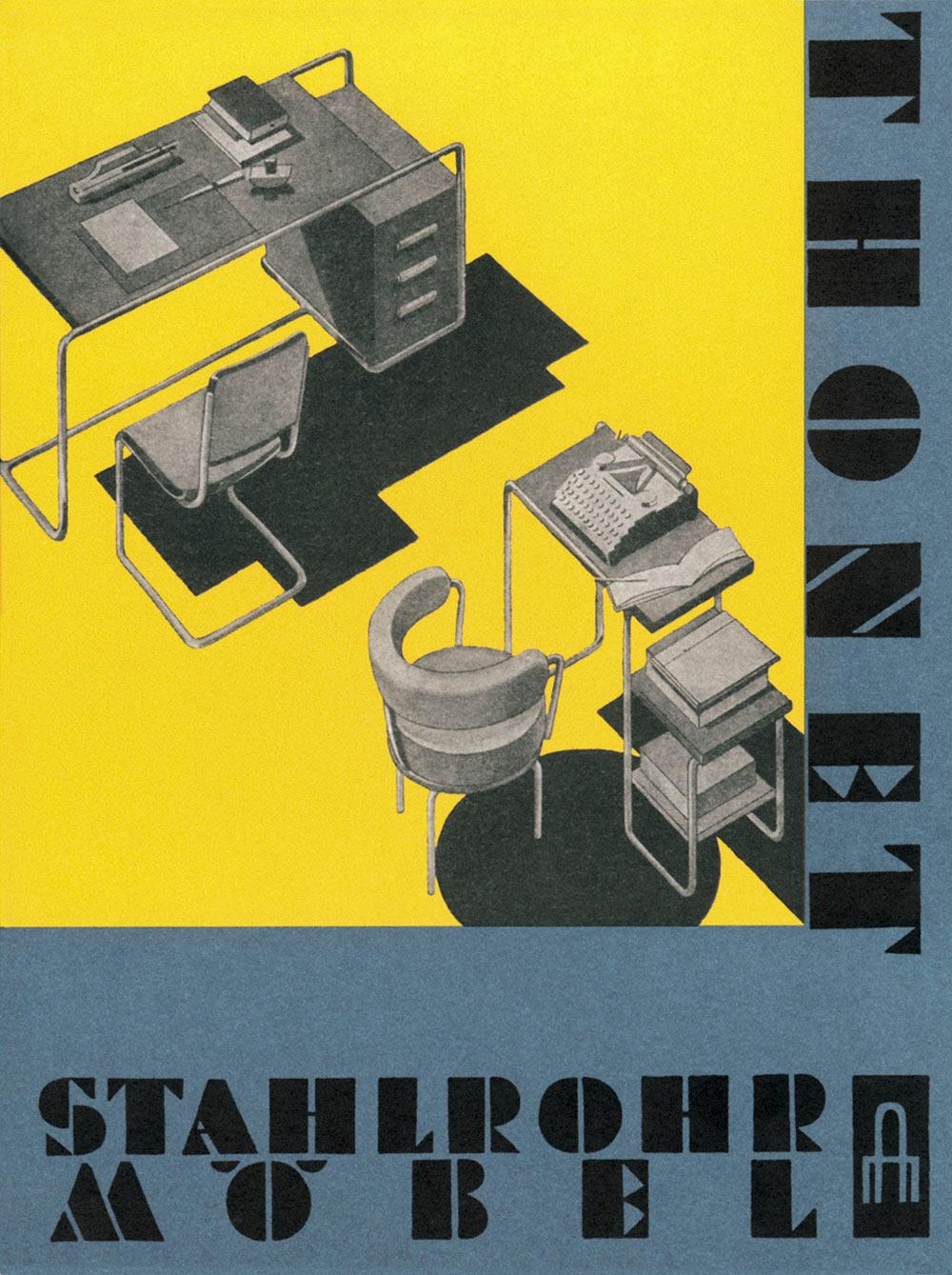 Thonet catalogue tubular steel 1930-31