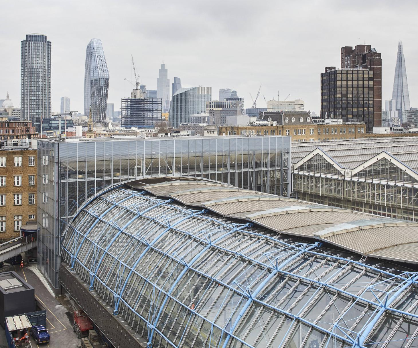 AECOM have brought Grimshaw's Waterloo International Terminal back to life