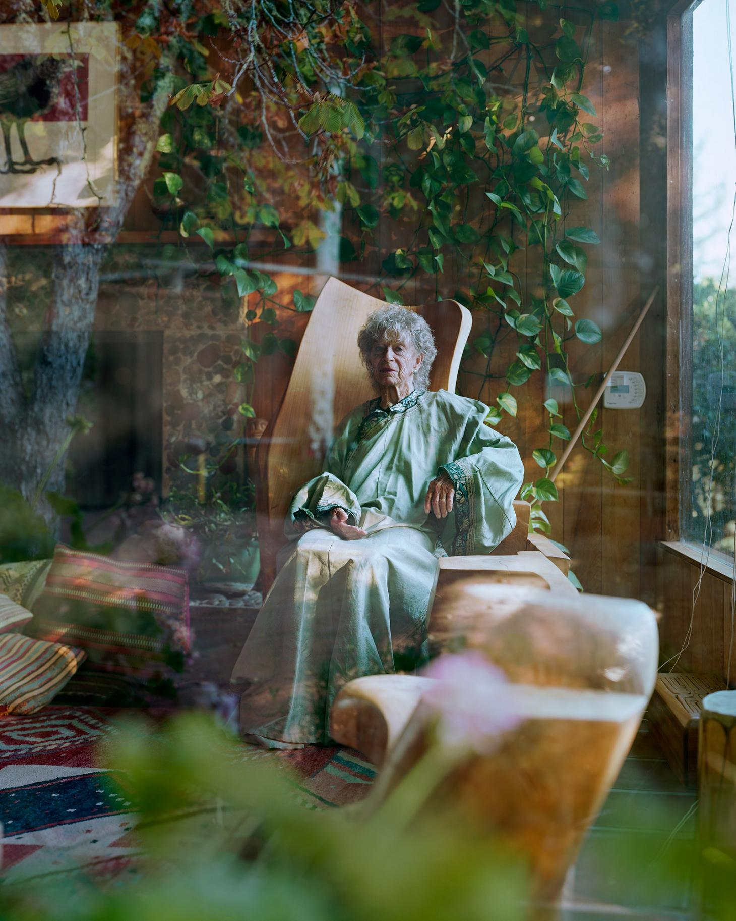 Alec Soth portrait of Anna, from Kentfield, California