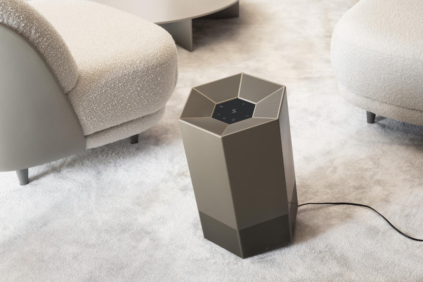 The Shield purifier from Air Origins, manufactured by French company JVD