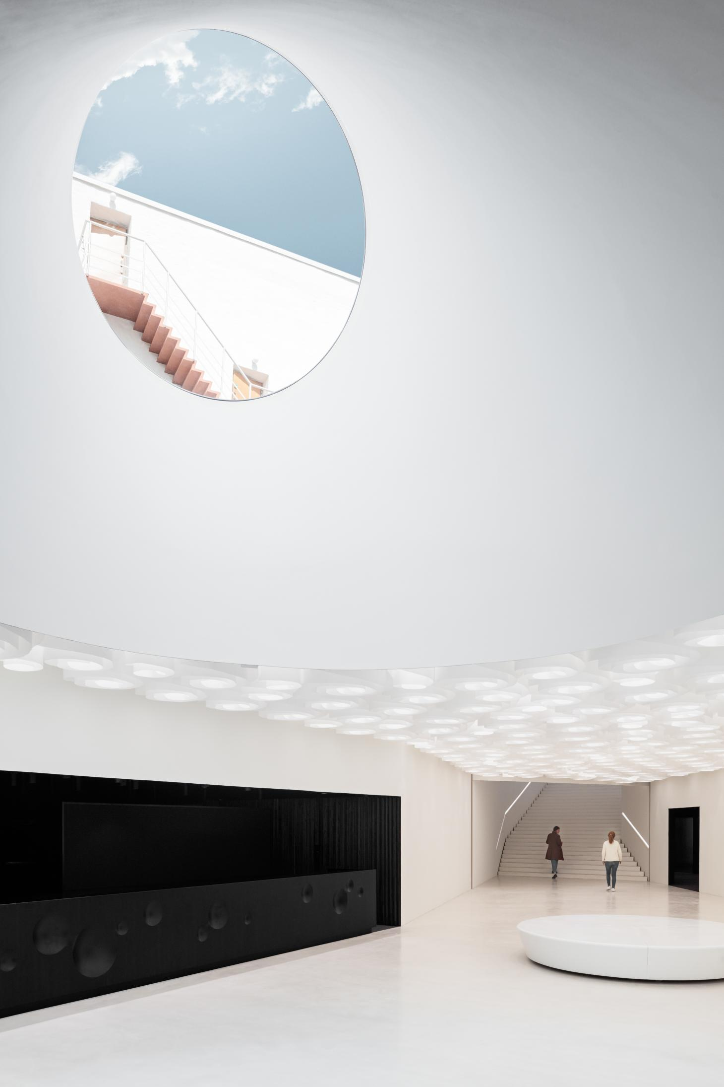 amos rex by JKMM architects opens
