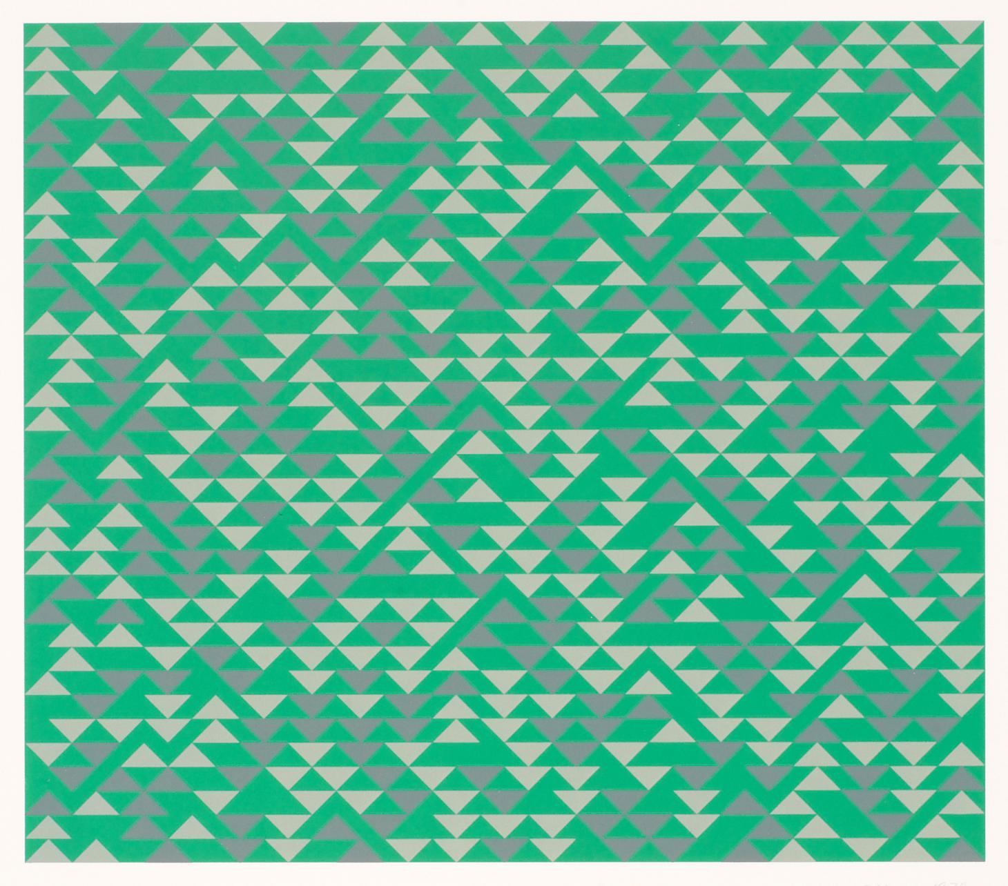 TR II lithograph, by Anni Albers
