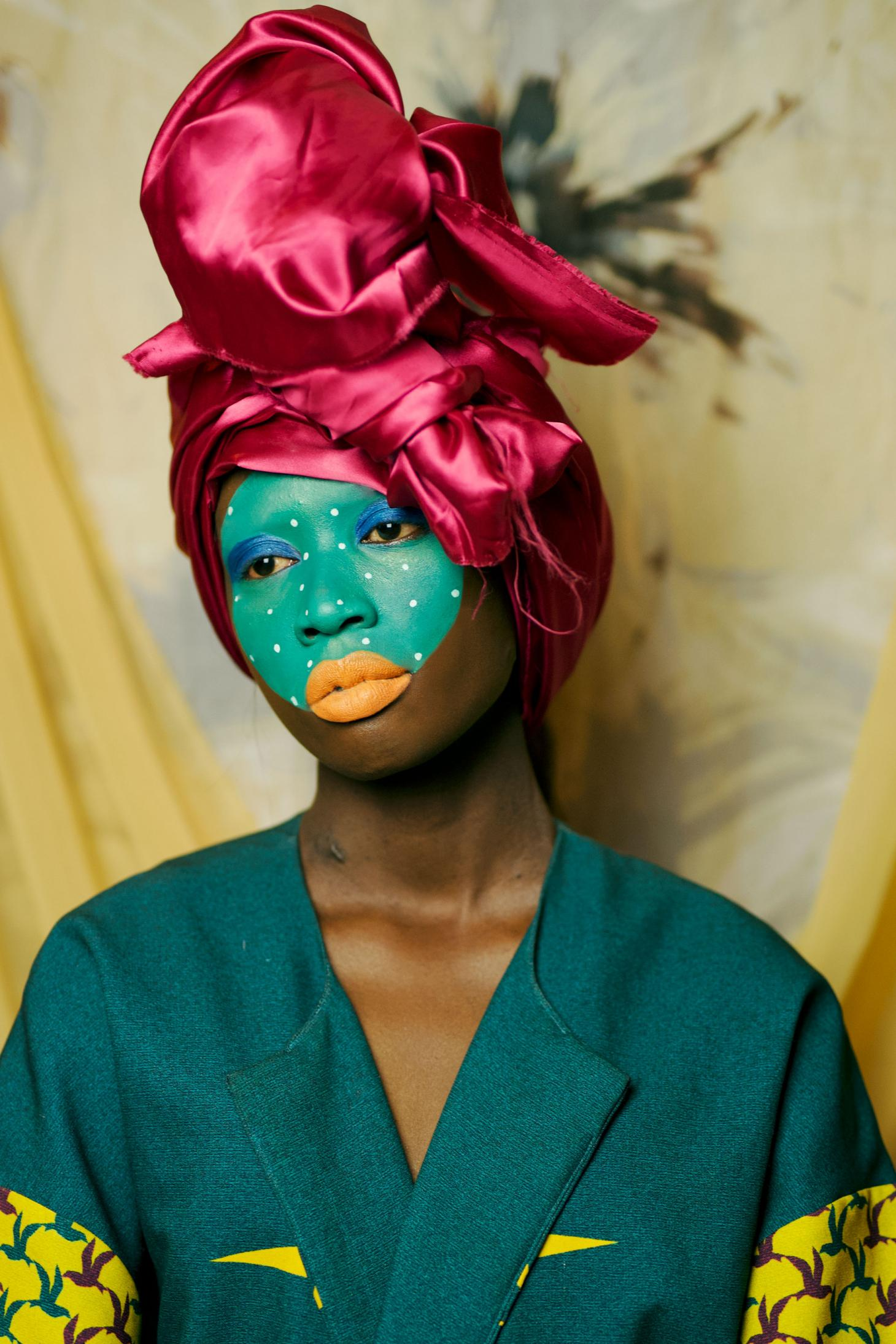 Atong Atem's Sahara portrait image on display at Photo 2021 in Melbourne