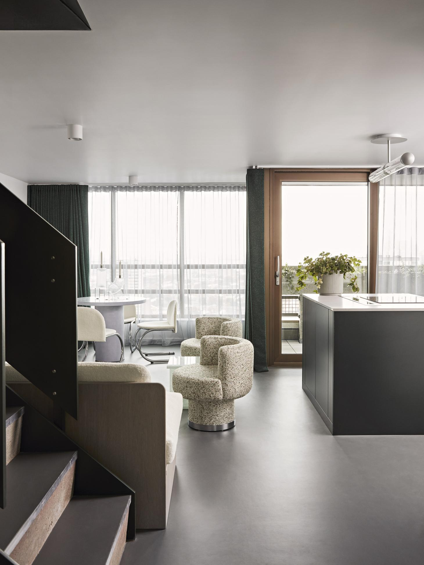 Balfron Tower show apartment interior by 2LG Studio