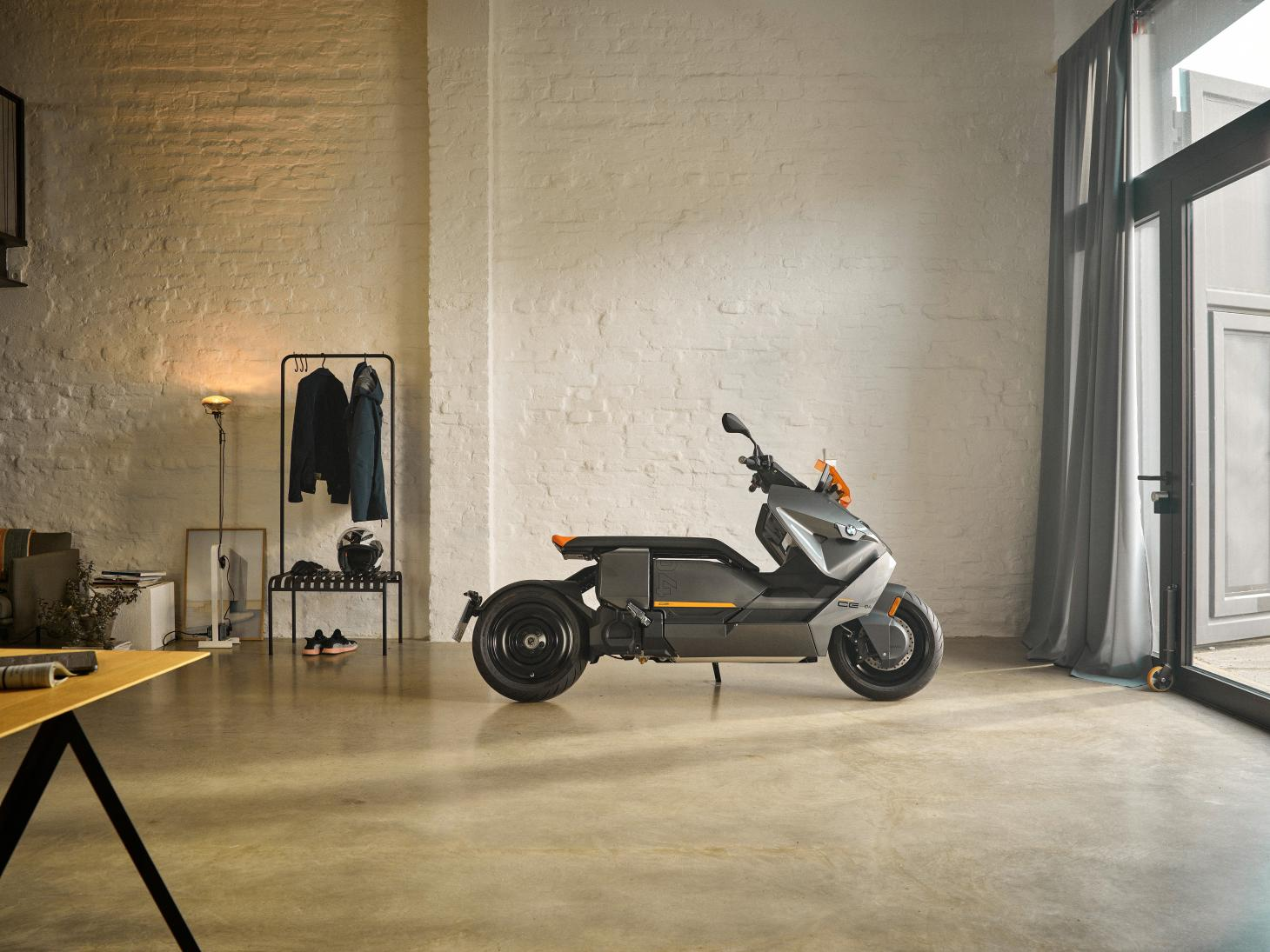 The new BMW Motorrad CE 04 Electric Scooter