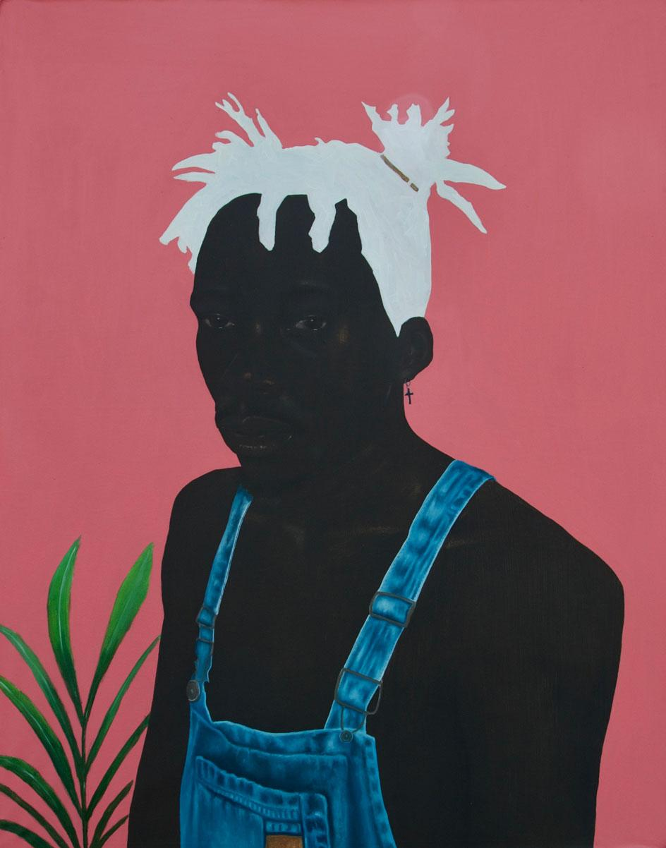 Eniwaye Oluwaseyi,Boy with the White Hair. Courtesy of the artist and of ADA