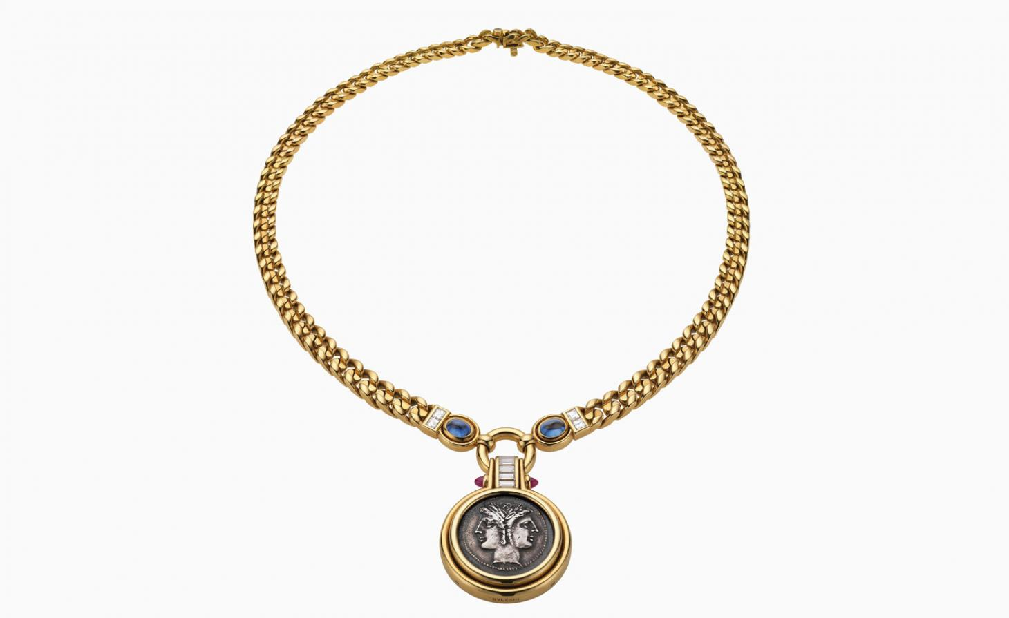 Bulgari Monete necklace