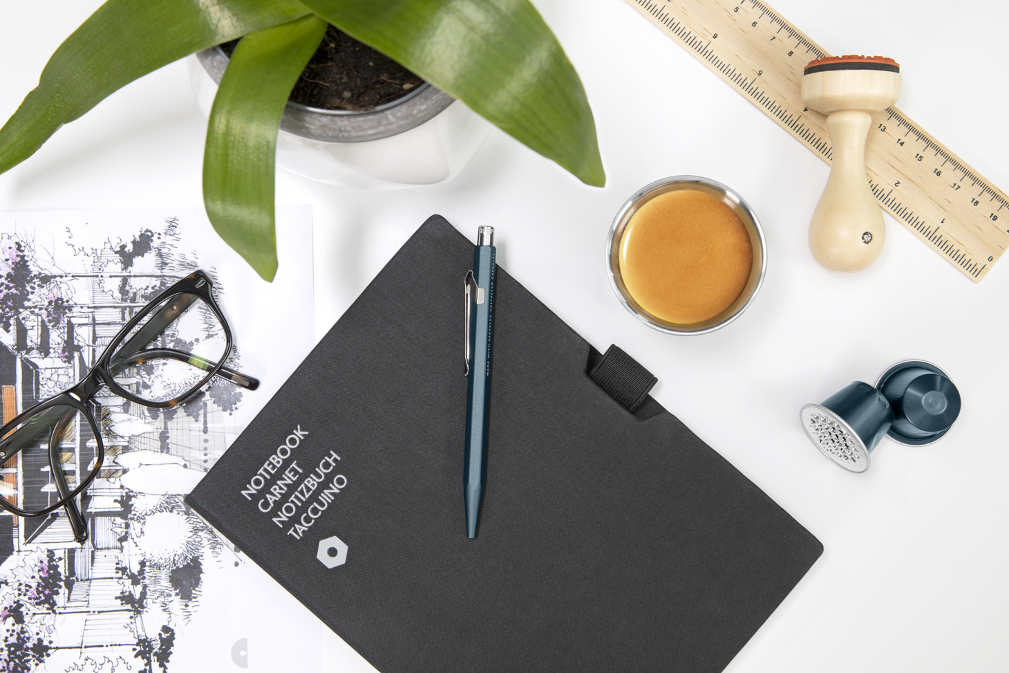 Nespresso and Caran D'Ache collaborate on limite edition sustainable pen