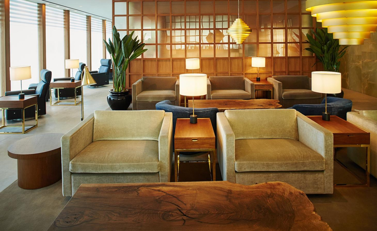 Cathay Pacific Lounge Heathrow Restaurant Review London