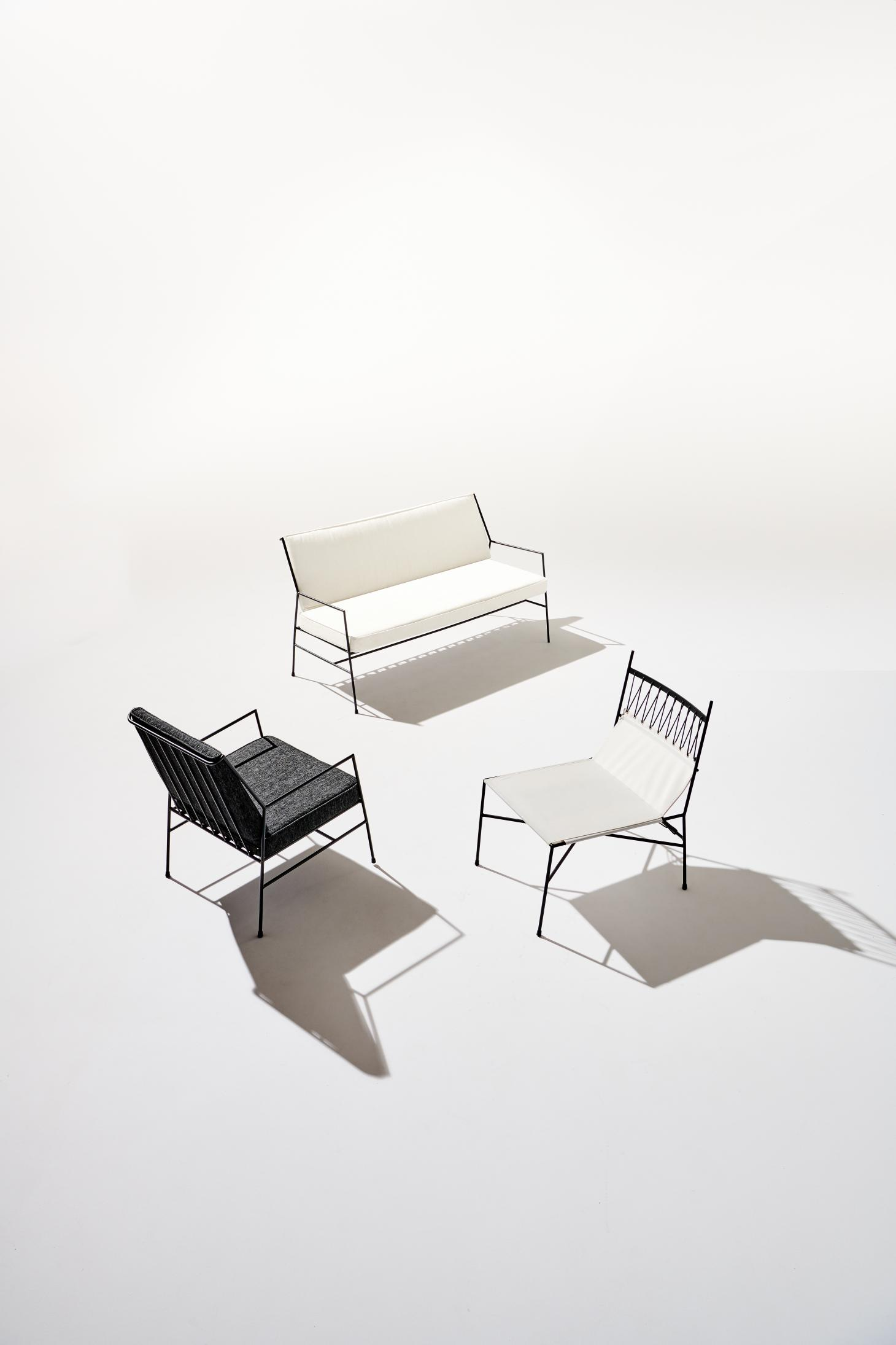 CB2 Outdoor furniture by Paul McCobb
