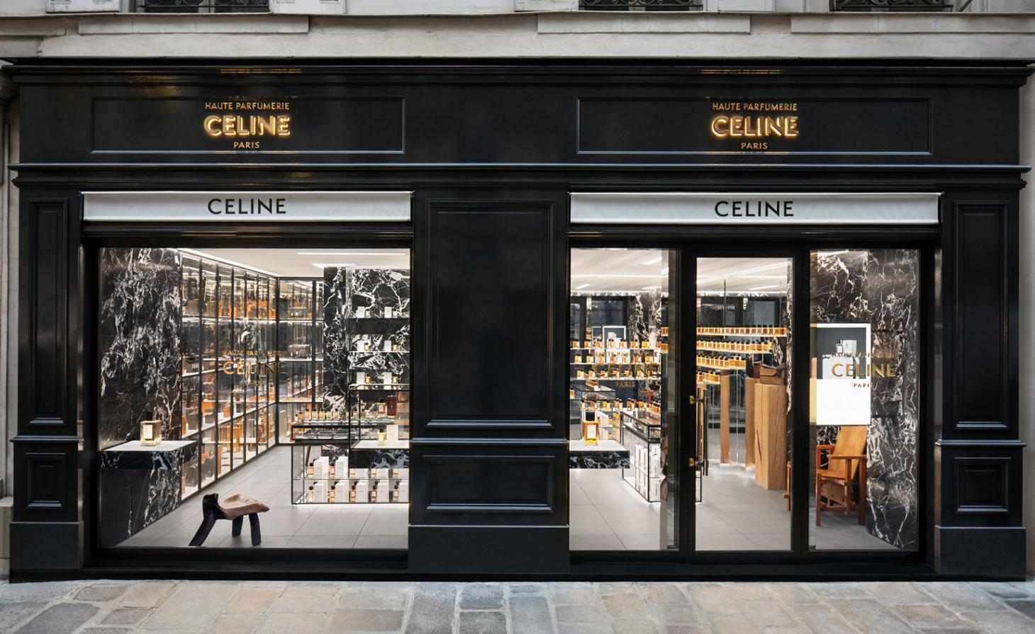 Celine fragrance store in Paris