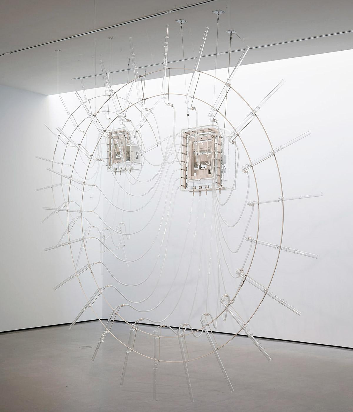 Cerith Wyn Evans' winning artwork for the 2018 Hepworth Prize for Sculpture