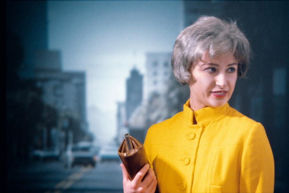 Cindy Sherman Untitled #74, 1980, on view in a major retrospective of the artist's work at Fondation Louis Vuitton